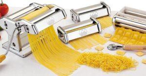Handmatige pastamachine