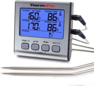 Digitale vleesthermometer ThermoPro Dubbele Vleesthermometer Digitaal