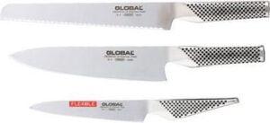 Beste koksmessen Global G9211 Messenset (3-delig)
