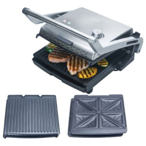 Contactgrill met verwisselbare platen Solis Grill & More 7952 + tosti