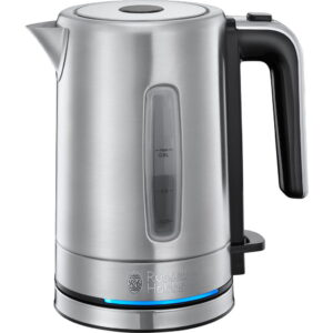 Kleine waterkoker Russell Hobbs Compact Home Brushed – 0,8 L