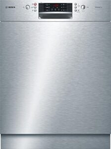 Beste onderbouw vaatwasser Bosch SMU46CS01E Serie 4 – Onderbouw vaatwasser – RVS