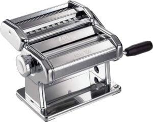 Handmatige pastamachine Marcato Atlas 150 – Pastamachine met Verwisselbare Kop – Chroom/Aluminium