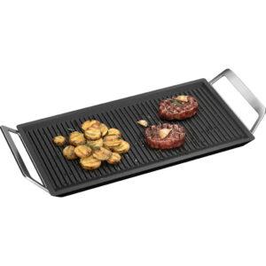 Beste inductie grillplaat algemeen AEG MASTERY COLLECTION Plancha A9HL33 – grillplaat – gegoten aluminium – 22 X 43 cm